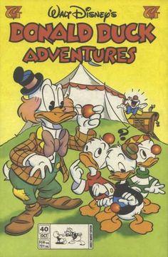 Disney - Circus Tent - Huey - Duey - Louie