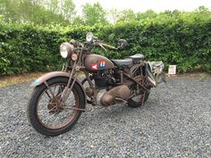 Finally finished... Motorcycle Engine, Vintage Motorcycles, Ariel, Ww2, Motorbikes, British, Vehicles, Classic, Derby