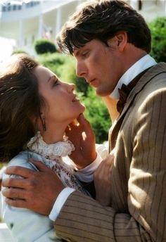 """""""There is so much to say...I cannot find the words. Except for these: 'I love you.'"""" --Somewhere in Time"""