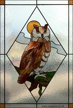 owl stained glass pattern | Owl Stained Glass Patterns