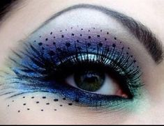 this is one of the images that appeared when I searched wild makeup