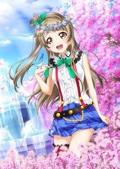 Minami chan or kotori chan Manga Anime Girl, Girls Anime, Anime Girl Cute, Beautiful Anime Girl, Anime Love, Anime Kawaii, Love Live, Anime Fantasy, Anime Characters