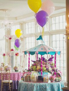 Carousel candies; possibly do on one of the round tables??? Carousel Birthday Parties, Circus Party, 1st Birthday Parties, Birthday Ideas, Shower Party, Baby Shower Parties, Baby Shower Gifts, Carnival Themes, Party Themes