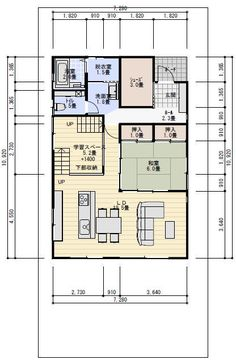 平屋におしゃれなスキップフロアがおすすめ!間取りのポイント&実例集 | 失敗しない!平屋の家を建てるための情報サイト Floor Plans, Flooring, How To Plan, Architecture, Building, House, Design, Rooms, Arquitetura