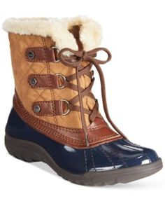 Anne Klein Gailla Cold Weather Boots | macys.com》》So many color options...I want them all!!《《