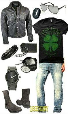 Men's 'day off' or 'after work' casual outfit