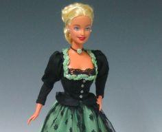 Dirndl et costumes pour poupées et poupées - poupées et costumes de poupée dirndl - magazine pour collectionneurs de poupées et poupées de collection - Barbie, Ken et Mode Libre
