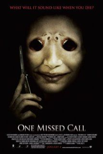 One Missed Call (2008), Alcon Entertainment, Missed Call Productions, and Kadokawa Pictures with Shannyn Sossamon, Edward Burns, and Ana Claudia Talancon. This was a fun movie.