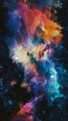 Nebulous Galaxy Wallpaper, Screen Wallpaper, Cool Wallpaper, Mobile Wallpaper, Wallpaper Backgrounds, Iphone Wallpaper, Art Clipart, Image Clipart, Landscape Wallpaper