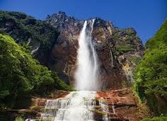 angel falls venezuela  one of the biggest fall in the world