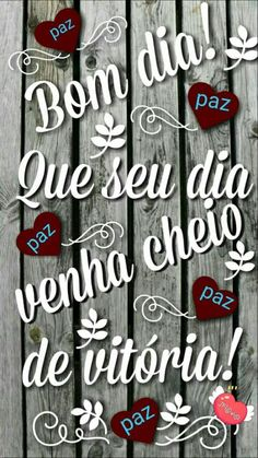 Bom dia, que seu dia seja cheiro de vitoria - Peace And Love, Love You, Peace Love And Understanding, Smiley Emoji, Teacher Style, Good Morning, Lettering, Humor, Wesley