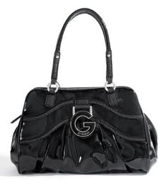 G by GUESS Wanda Satchel, BLACK « Holiday Adds