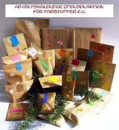 Adventskalender - Adventskalender Frauen Spendenaktion Farbtupfer - ein Designerstück von iLike_wuuschl bei DaWanda