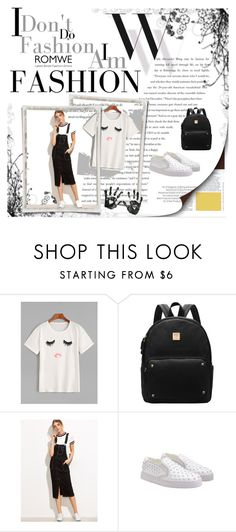 """Romwe 71"" by zerina913 ❤ liked on Polyvore featuring Balenciaga and romwe"