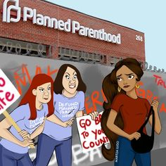 Disney Princesses Trying to Go to the OBGYN Under a Trump/Pence Administration (Illustrations by… – Medium