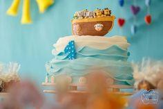 E ainda sobre o sábado. O segundo tempo digo a segunda festa do dia teve como tema a Arca de Noé! Vejam como ficou o bolo! - http://ift.tt/1HQJd81