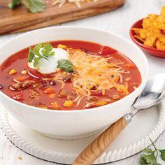 Gratin de boeuf mexicain - Les recettes de Caty