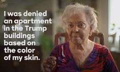Hillary Clinton has just released an emotional new ad exposing Donald Trump's past of flagrant and disturbing discrimination against African Americans.