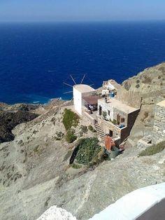 Greece Tours, Greece Travel, Beautiful Islands, Beautiful Places, Santorini Villas, Myconos, Dark Fantasy, Island 2, Greece Islands
