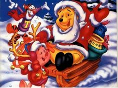 Winnie The Pooh ~ Pooh's Christmas