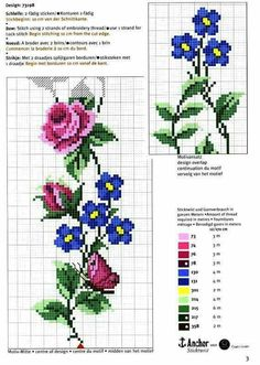 cross stitch flowers and butterflies Cross Stitch Bookmarks, Cross Stitch Rose, Cross Stitch Borders, Cross Stitch Baby, Cross Stitch Flowers, Cross Stitch Charts, Cross Stitch Designs, Cross Stitching, Cross Stitch Embroidery