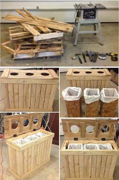 Use Pallet Wood Projects to Create Unique Home Decor Items Diy Pallet Wall, Pallet Storage, Diy Pallet Projects, Crate Storage, Pallet Ideas, Woodworking Projects, Unique Home Decor, Home Decor Items, Diy Home Decor