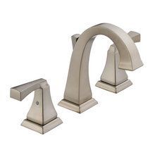 View the Delta 3551LF Dryden Widespread Bathroom Faucet - Includes Metal Pop-Up Drain at FaucetDirect.com. $227
