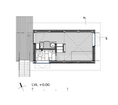 Image 13 of 21 from gallery of Charred Cabin / DRAA. Ground Floor Plan