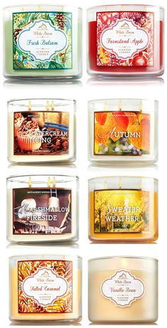 Bath and Body Works Fall 2015 Candles Launch