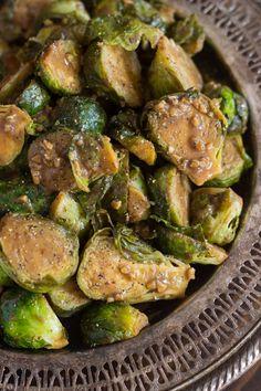 Dijon Balsamic Brussels Sprouts – Dan330