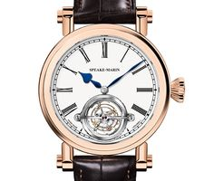 """Speake-Marin Magister Tourbillon - see more about it in Ariel's write-up over at Centurion Magazine """"A Swiss watch by an Englishman. Indeed, the modern Swiss watch industry is a true melting pot, not only of nationalities, but also of companies..."""" then see more articles about Speake-Marin: http://www.ablogtowatch.com/watch-brands/speake-marin/ and more about Tourbillon Watches here: http://www.ablogtowatch.com/tag/tourbillon-watches/"""