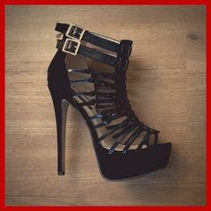 Gorgeous boyfriend approved high heel sandals #heels #sandals #platform Sandals Platform, Peeps, Peep Toe, High Heels, Boyfriend, Articles, Shoes, Fashion, Moda