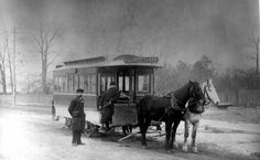 High Park two-horse car, 1888.