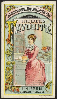 Superior vegetable national dry hop yeast. The ladies favorite. Uniform & always reliable. [front]   Flickr - Photo Sharing!
