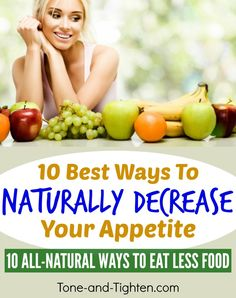10 of the best ways to naturally decrease your appetite and eat less food. Ginger Benefits, Health Benefits, Health Tips, Lose Weight, Weight Loss, Appetite Control, How To Eat Less, Health Problems, All You Need Is