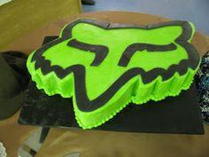The Dessert Box: Fox Racing cake