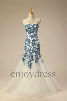 Custom Applique Long Prom Dresses Formal Evening Dresses Fashion Party Dresses Wedding Party Dresses Wedding Dresses Bridal Gowns on Etsy, $162.00