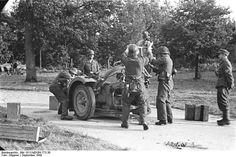 German troops counter attack - Arnhem 1944 operation market garden