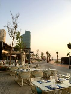 The Beach is a fantastic new development at JBR The Walk, with beach loungers, restaurants, cafes, and lots of fun things like beachside yoga and weekend markets.