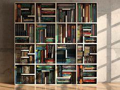 Read Your Bookcase via Arredamenti Saporiti