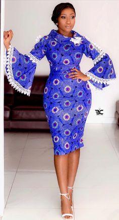Ankara Dress Styles, Latest African Fashion Dresses, African Dresses For Women, African Print Fashion, Africa Fashion, African Attire, African Prints, African Fabric, Women's Fashion