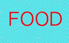 Illustration with the word Food Graphics Illustration with the word Food by WorldImage