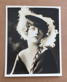 Ethereal + Early MARION DAVIES / CAMPBELL STUDIOS NYC / Beautiful / RARE / NR!