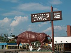 Angelo's Steak Pit Long Horn Saloon, Panama City Beach, FL My hubby favorite place to eat! Panama City Beach Florida, Florida Vacation, Vacation Places, Panama City Panama, Vacation Spots, Florida Food, Wonderful Places, Great Places, Places To Go