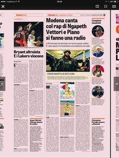 Il rap di Earvin Ngapeth e la web-radio di Luca Vettori e Matteo Piano  -- 2 dicembre 2014