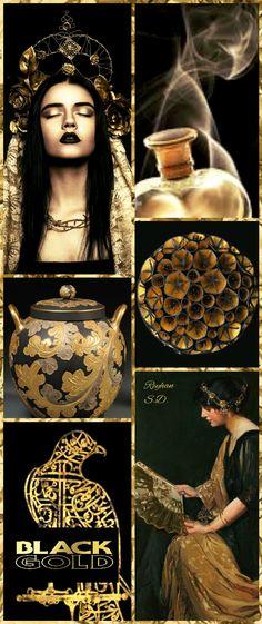 '' Black & Gold '' by Reyhan S.D.
