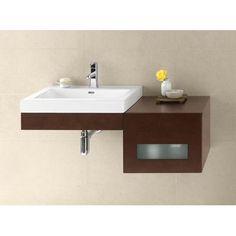 Ronbow Adina 41 Single Wall Mount Bathroom Vanity Set