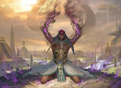 """cyrail: """"Splendid Agony - MTG by ClintCearley Featured on Cyrail: Inspiring artworks that make your day better """""""