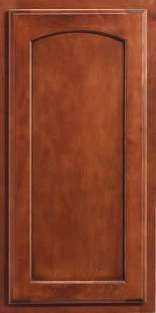 Merillat Classic® Spring Valley Arch  Maple Wood, Sable Finish