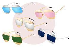 Nicce Burlamaqui   Dior Split - Os novos óculos de sol   shape aviado. 6b99d19536